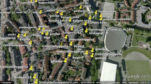 DigitaltMuseum i GoogleEarth