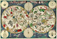 A celestial map from the 17th century, by the Dutch cartographer Frederik de Wit.