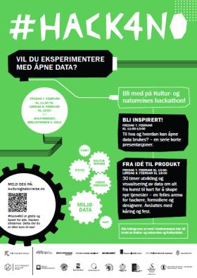 Bilde #hack4no plakat