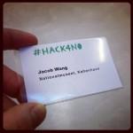 jacobriddersholm #HACK4NO yeah!