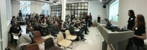 jwangdk #HACK4NO dataset presentation, many great people here!