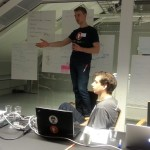Ivrig planlegging på #hack4no #knreise