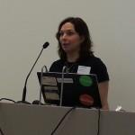 Siri Slettvåg, prosjektleder #Knreise på åpning av #hack4no #Knreise skal synliggjøre det usynlige