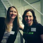 KristinLyng @hbroom og @sirisel skjønner #opnedata og er våre beste ambassadører for fremtidens løsninger. Heia! #hack4no