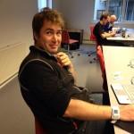 maritkamu Åsmund Birkeland er i gang på #hack4no
