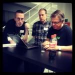 Opptelling - hvor mange prosjekter jobbes det med på #hack4no Det set bra ut! #knreise