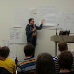 Presentasjon av idé på #hack4no #knreise