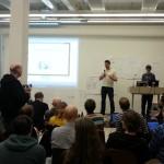 Presentasjon av prosjekter - #trođa - på #hack4no #knreise
