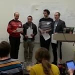 SNL versus Wikipedia kom på 2. Plass i #hack4no #knreise