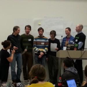 Vinnerne av #hack4no er second take! Vi gratulerer! #knreise