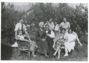 Familien Ladehaug har også sin ufortlae historie fra krigen
