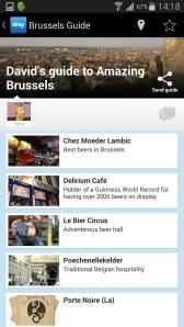 Litt rask scrolling viste at min gode venn og ølekspert, David Løite, allerede hadde laget en glimrende guide til Brussel. Hva mer kunne jeg be om?