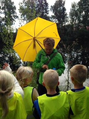 August 2014 Testing av Knappen med barnehagebarn
