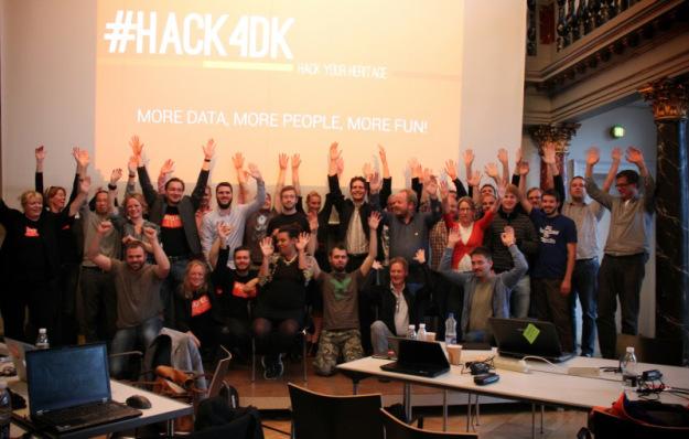 Gruppebilde #hack4dk 2013