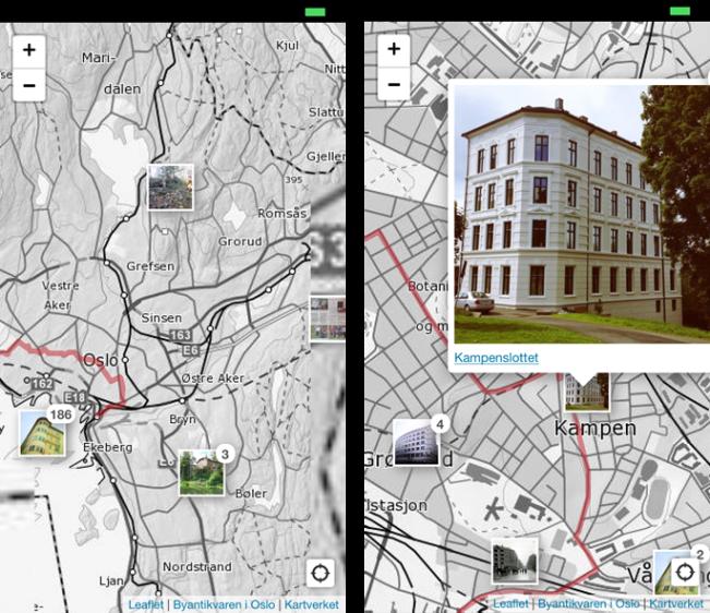 Byantikvaren i Oslo - webapp