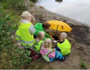 Testing digital stories for children, Telemark