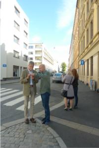 Testing KNappen in Oslo