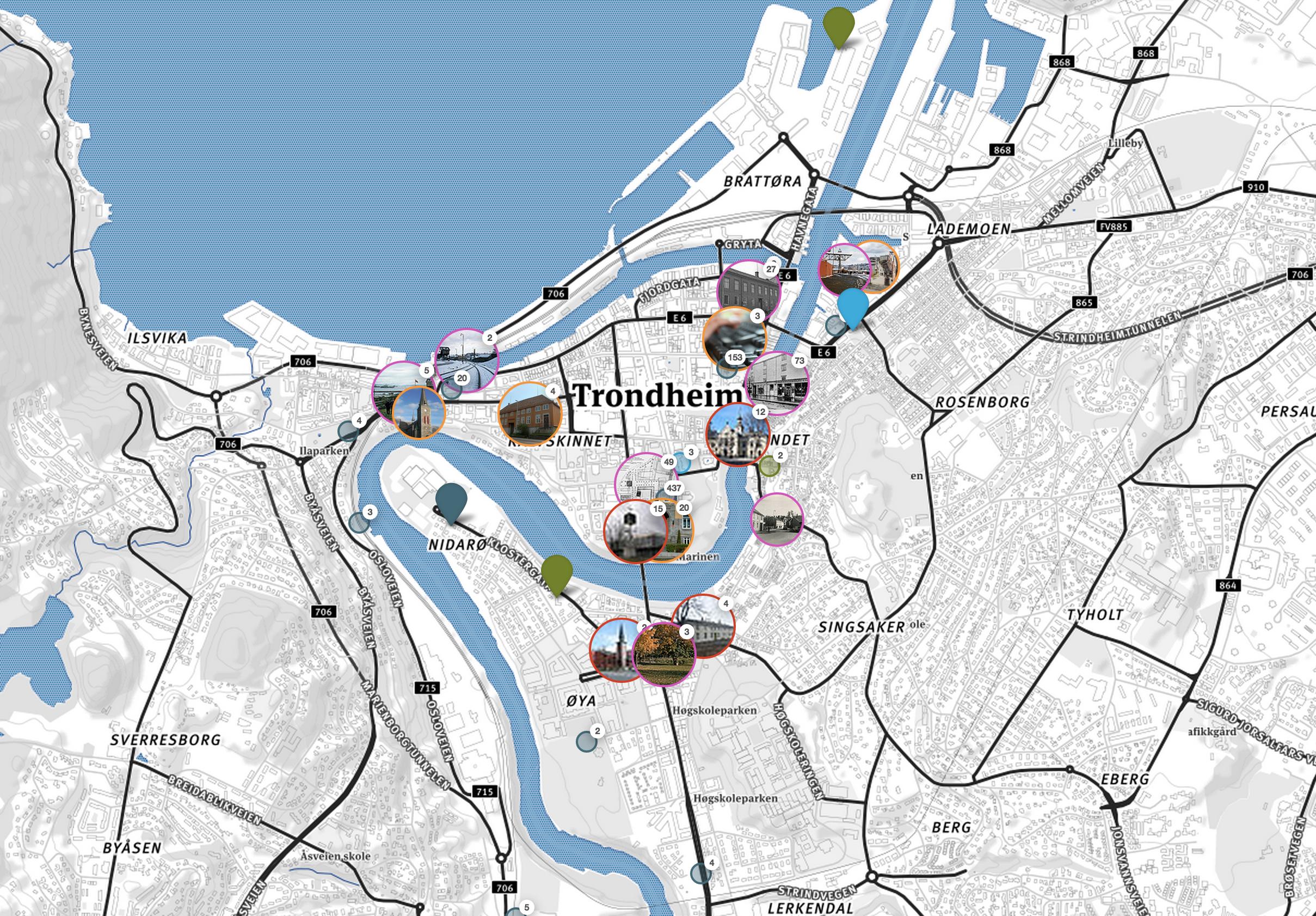 flyktningeruta kart Nye kart og demonstratorer | kulturognaturreise.no flyktningeruta kart